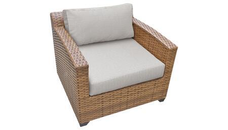 TKC025b-CC-ASH Club Chair - Wheat and Ash