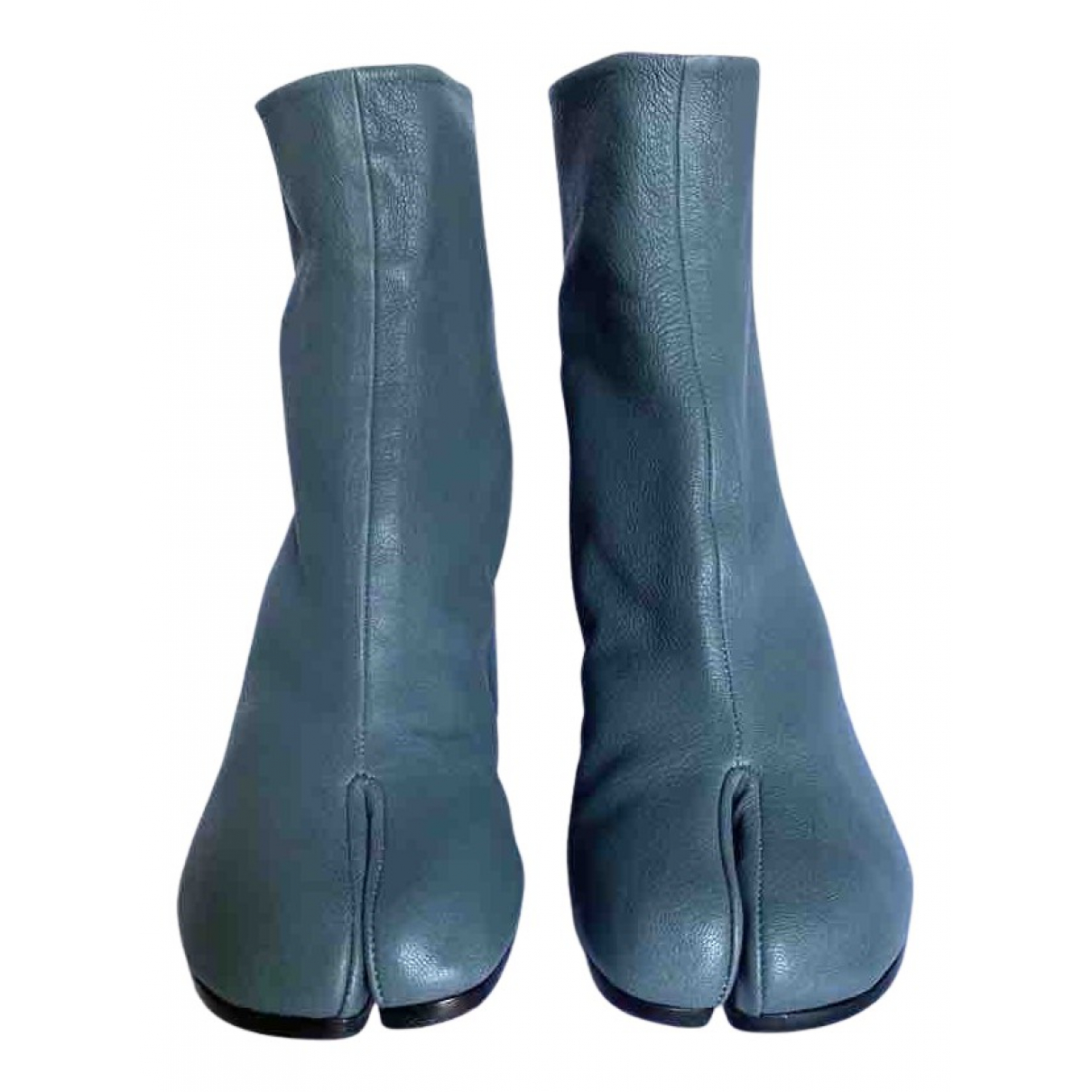 Maison Martin Margiela - Boots Tabi pour femme en cuir