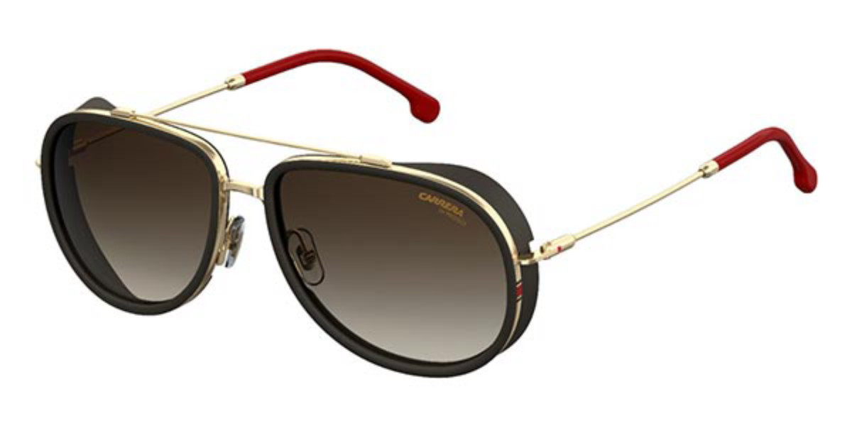 Carrera 166/S Y11/HA Men's Sunglasses Black Size 59