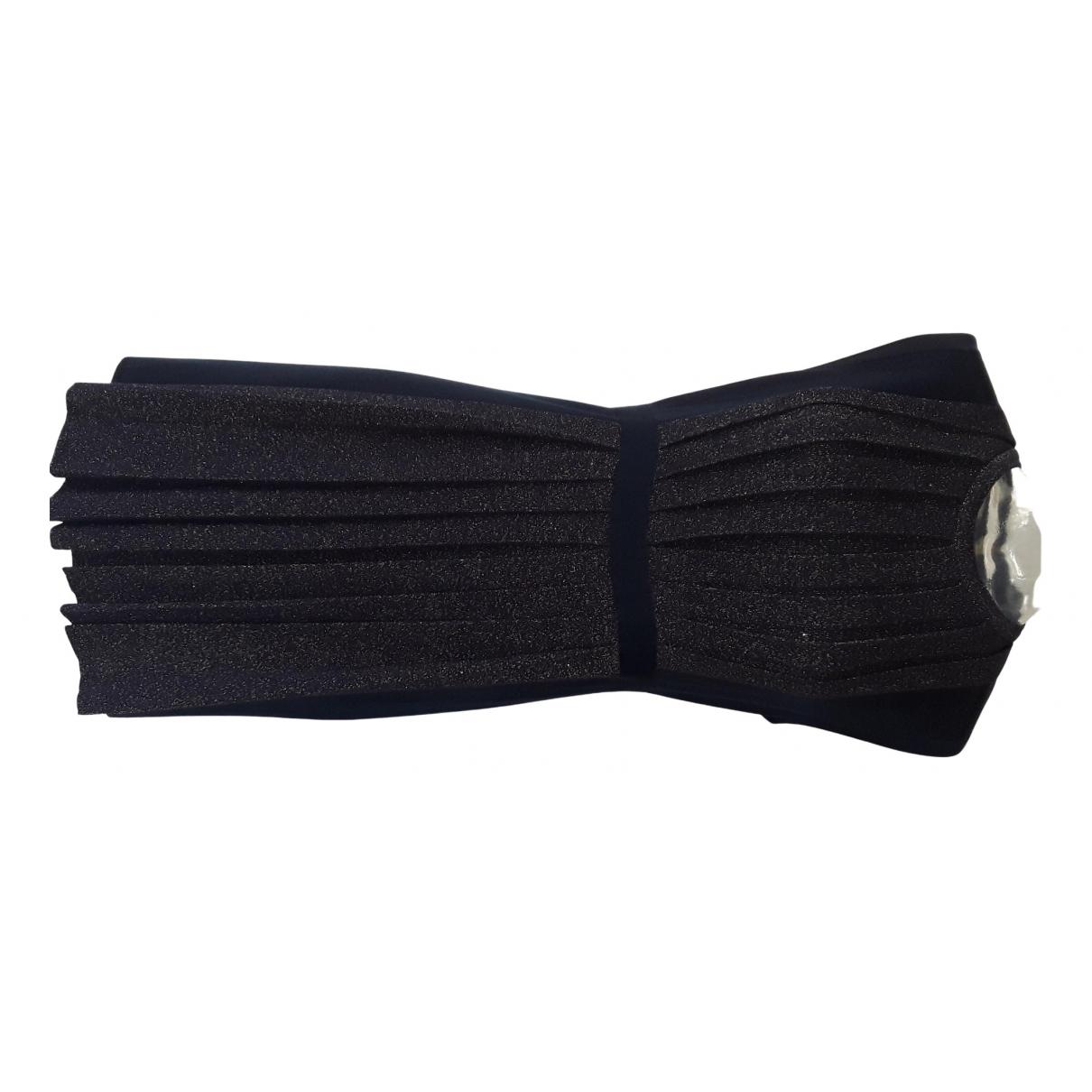 Moschino \N Kleid in  Marine Wolle