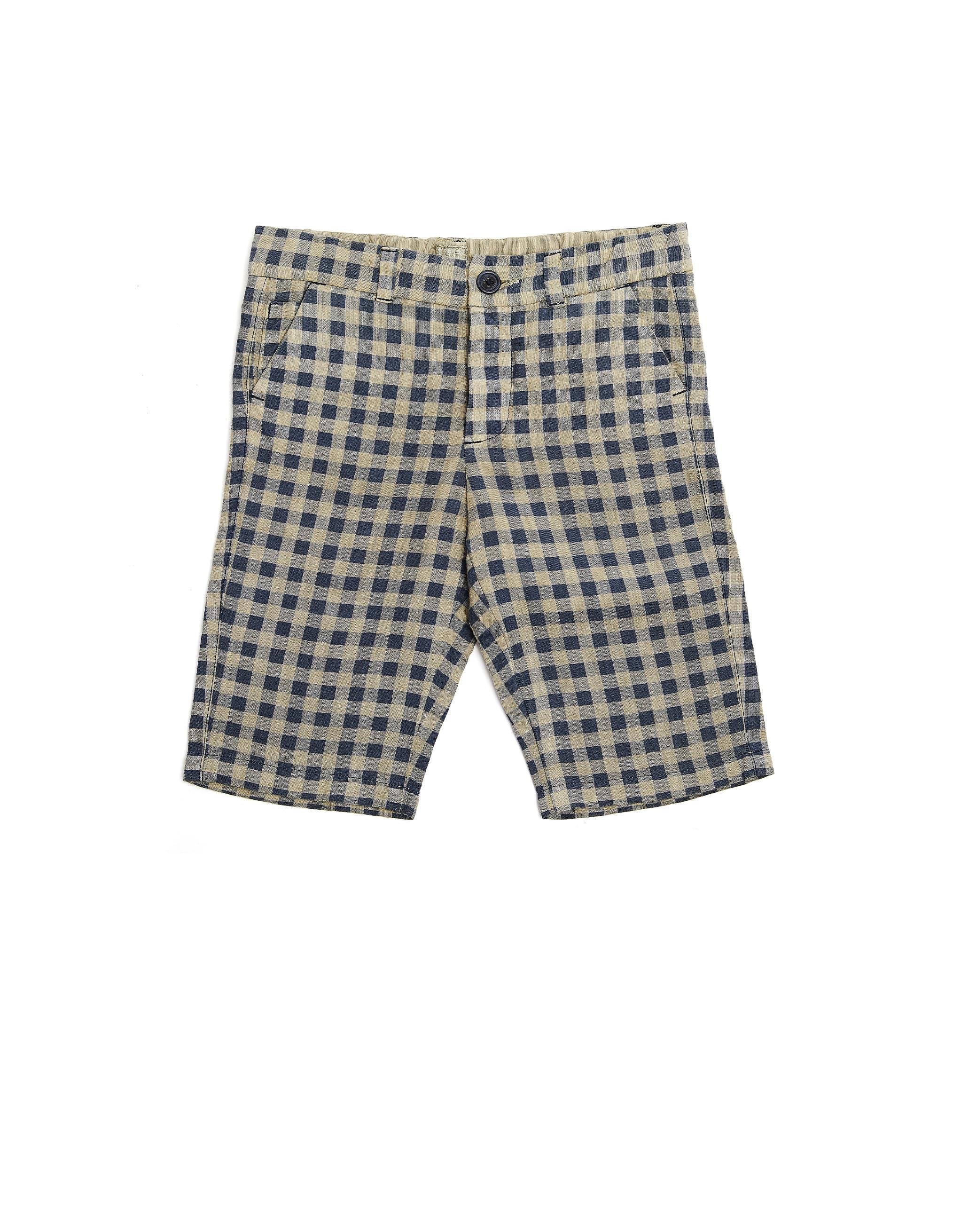 120% Lino Kids Linen Shorts