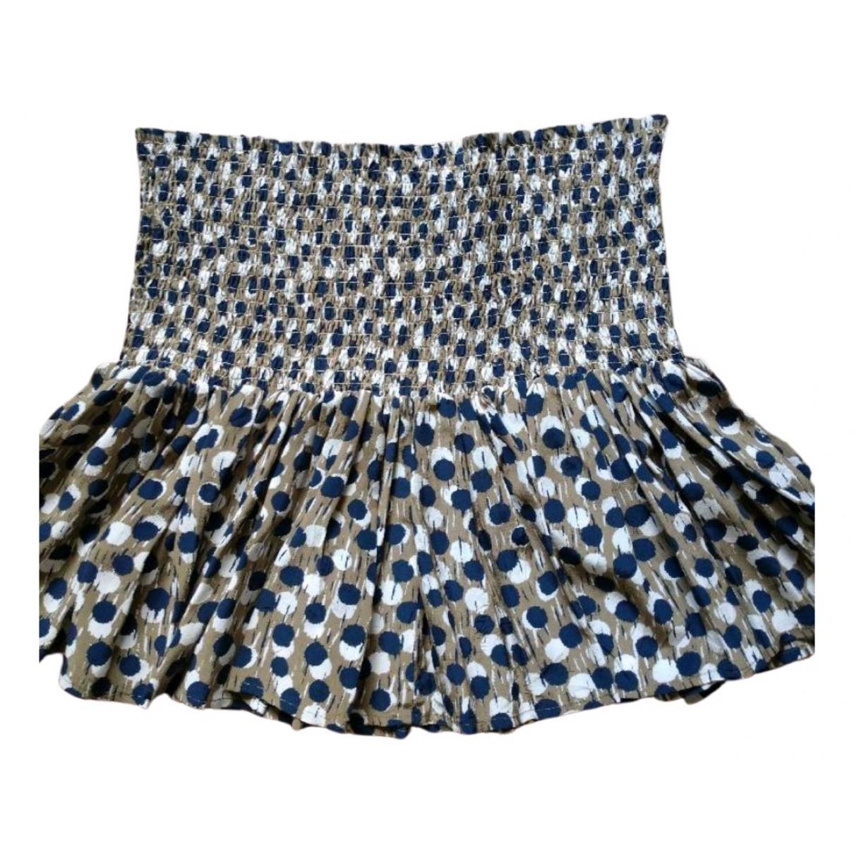 Vanessa Bruno Athe \N Khaki Silk skirt for Women 40 FR