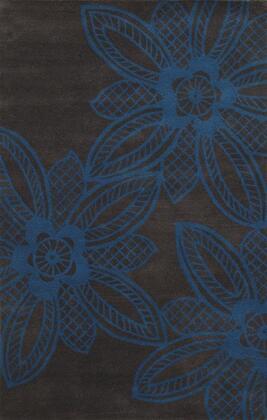 BBDBD8859M10008RD Bradberry Downs BD8859-8' x 8' Hand-Tufted 100% Premium Blended Wool Rug in Dark Gray  Round