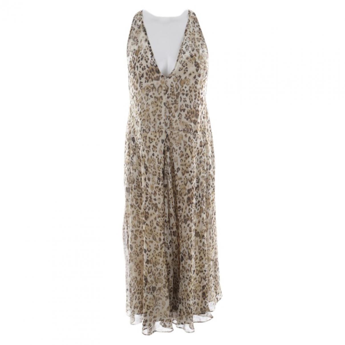 Maxi vestido de Seda Iro