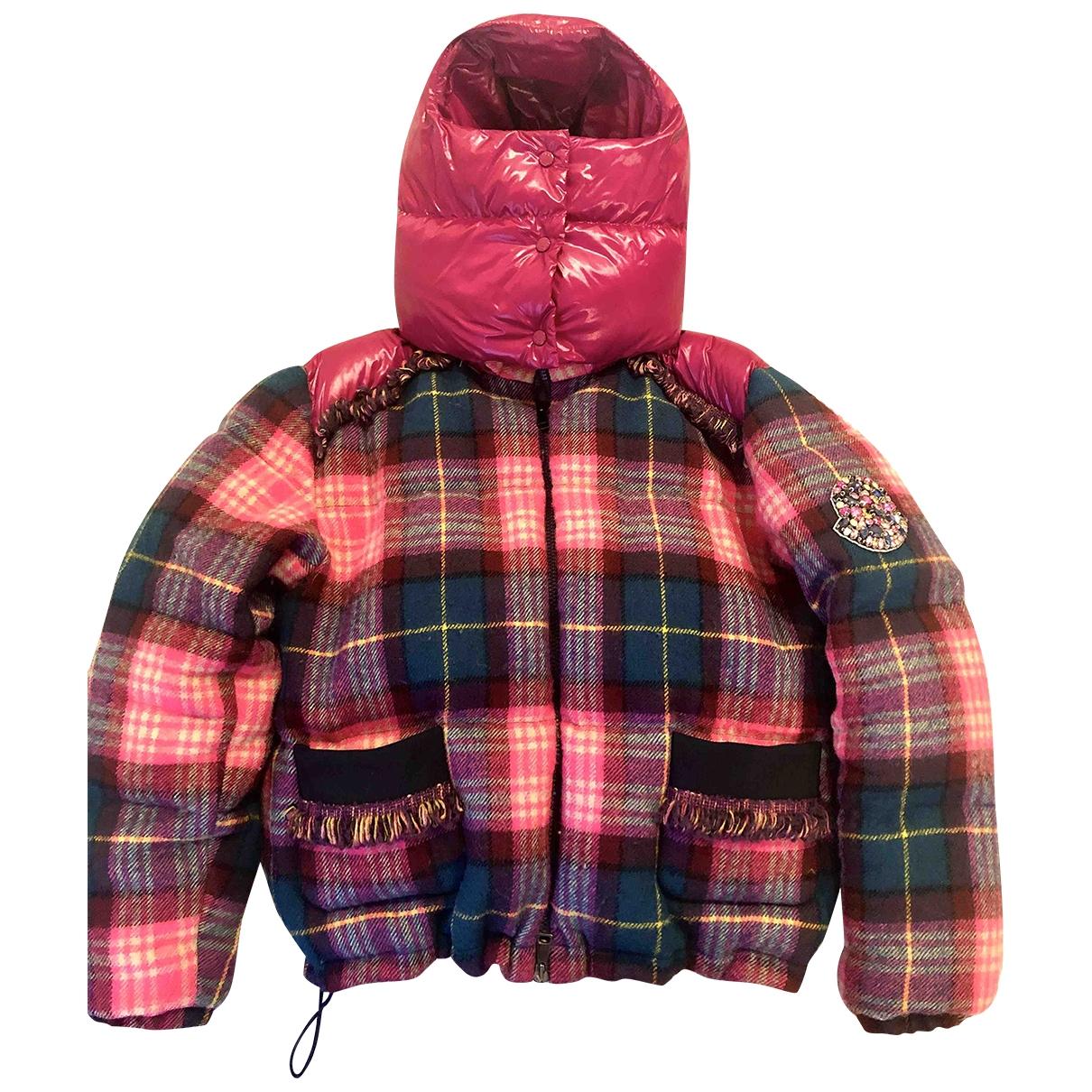 Moncler Classic Multicolour Tweed coat for Women 1 0-5