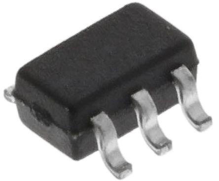 ON Semiconductor BC847BPDW1T2G Dual NPN + PNP Transistor, 100 ((Continuous) NPN) mA, 200 ((Peak) PNP) mA, 45, 6-Pin SOT-363 (3000)