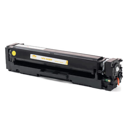 Compatible Canon 045H cartouche de toner jaune haute capacite 1243C001
