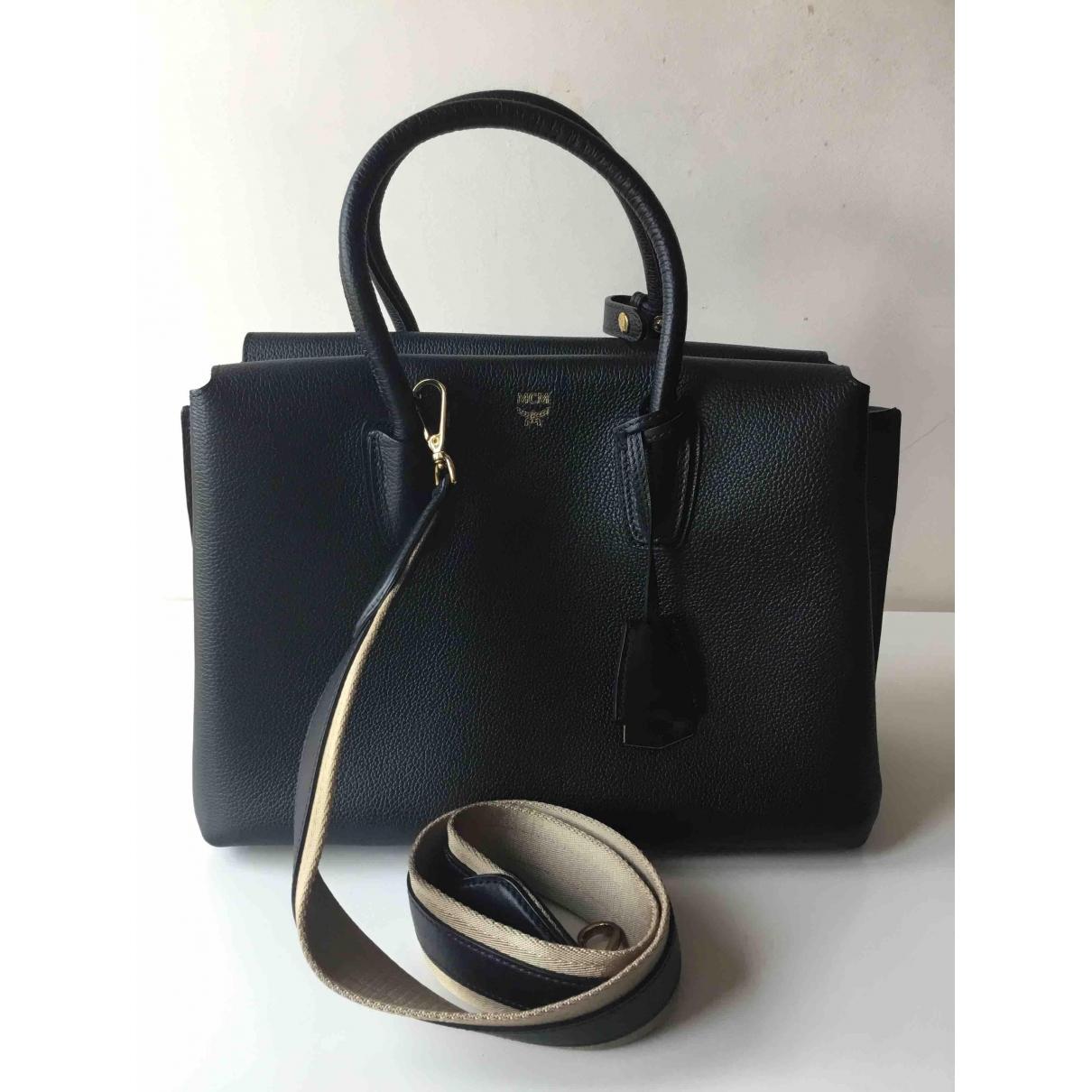 Mcm Milla Black Leather handbag for Women \N