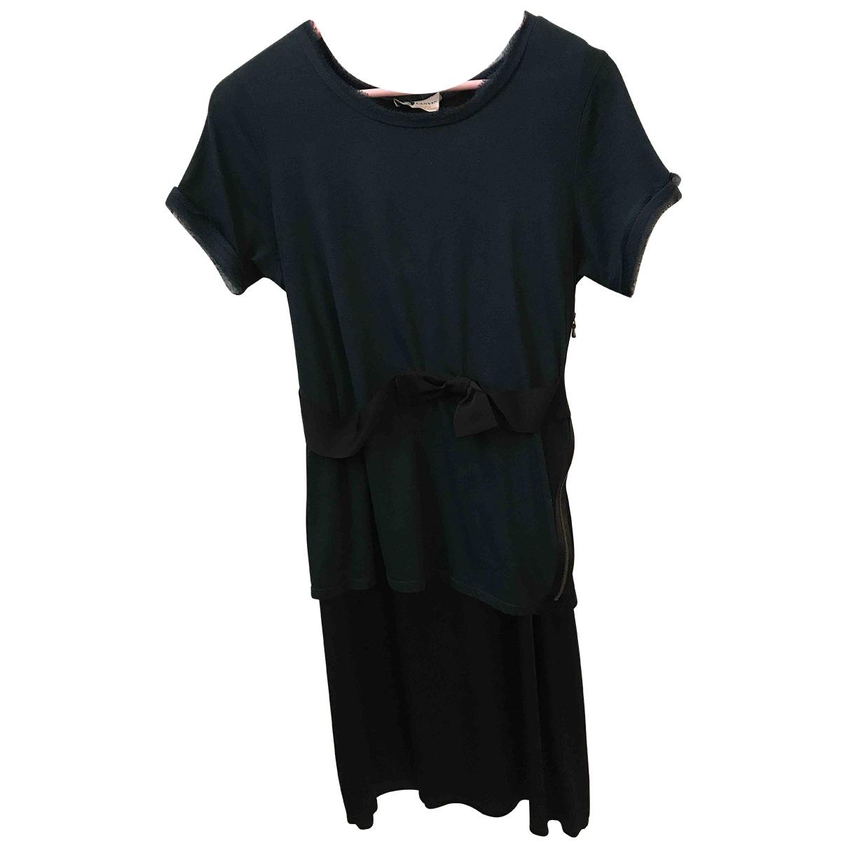 Lanvin - Robe   pour femme en soie - multicolore