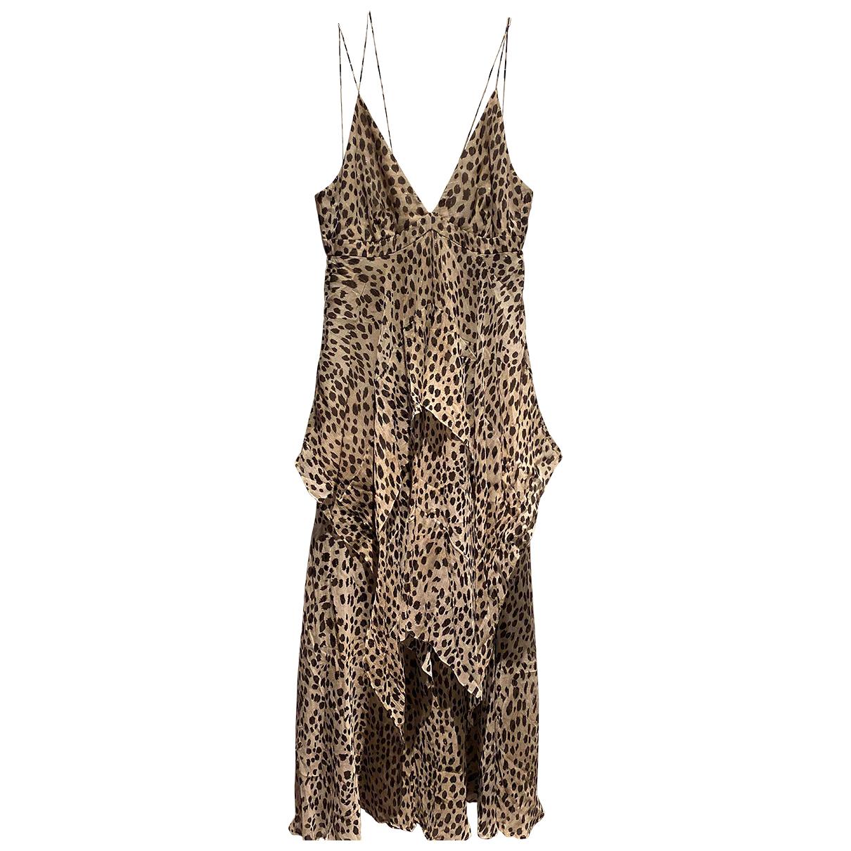 Roberto Cavalli N Multicolour Silk dress for Women 8 US