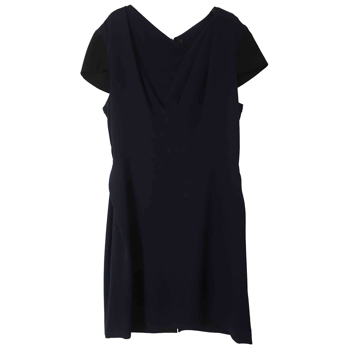 Roland Mouret \N Kleid in  Marine Wolle