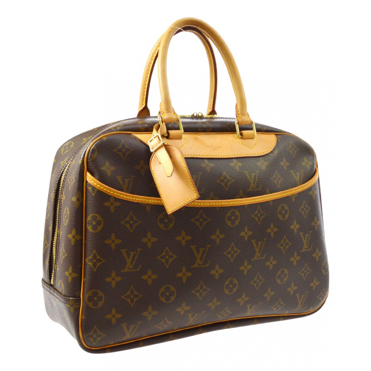 Louis Vuitton Deauville Brown Cloth Travel bag for Women \N