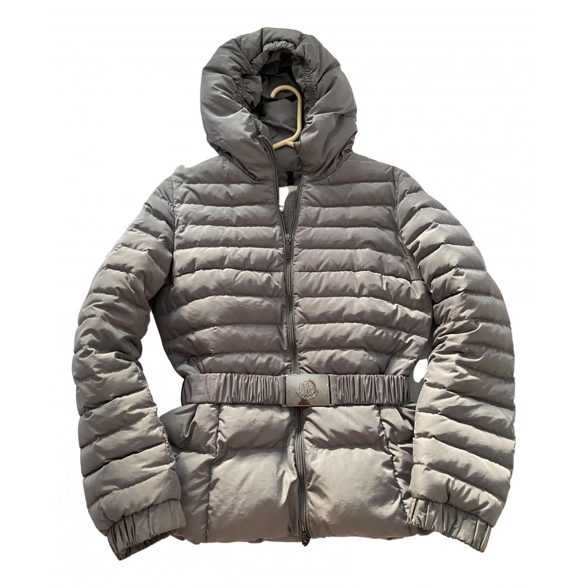 Moncler - Manteau Hood pour femme - gris