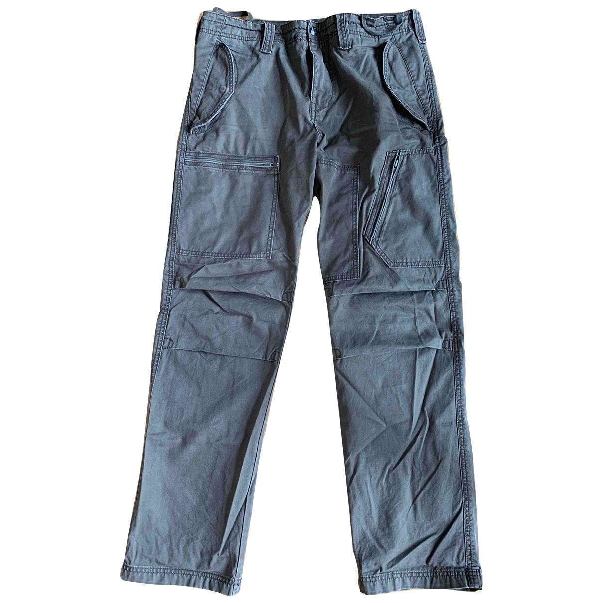 Pantalones en Algodon Caqui Dkny