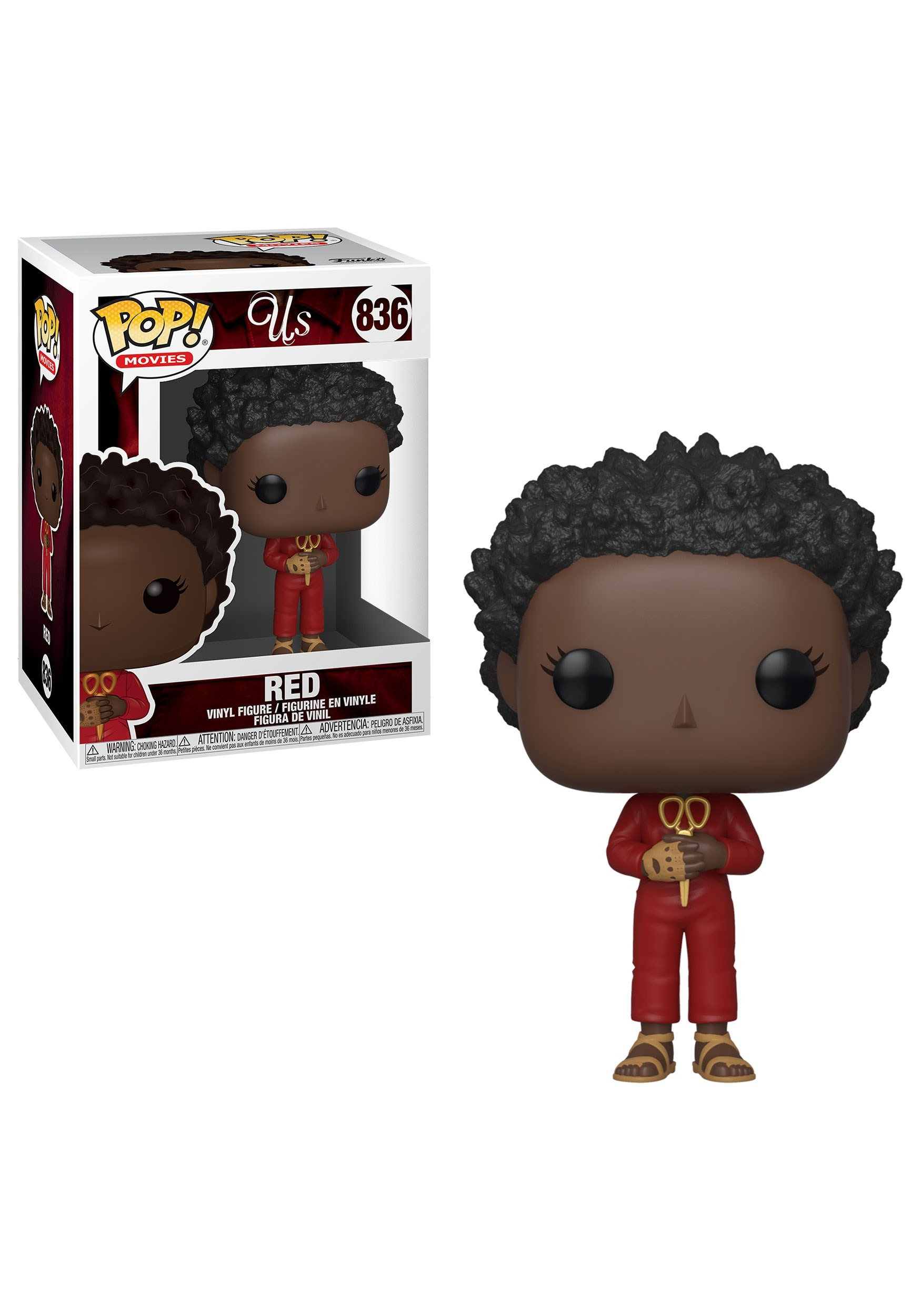 Pop! Movies: Red w/ Oversized Scissors- Us