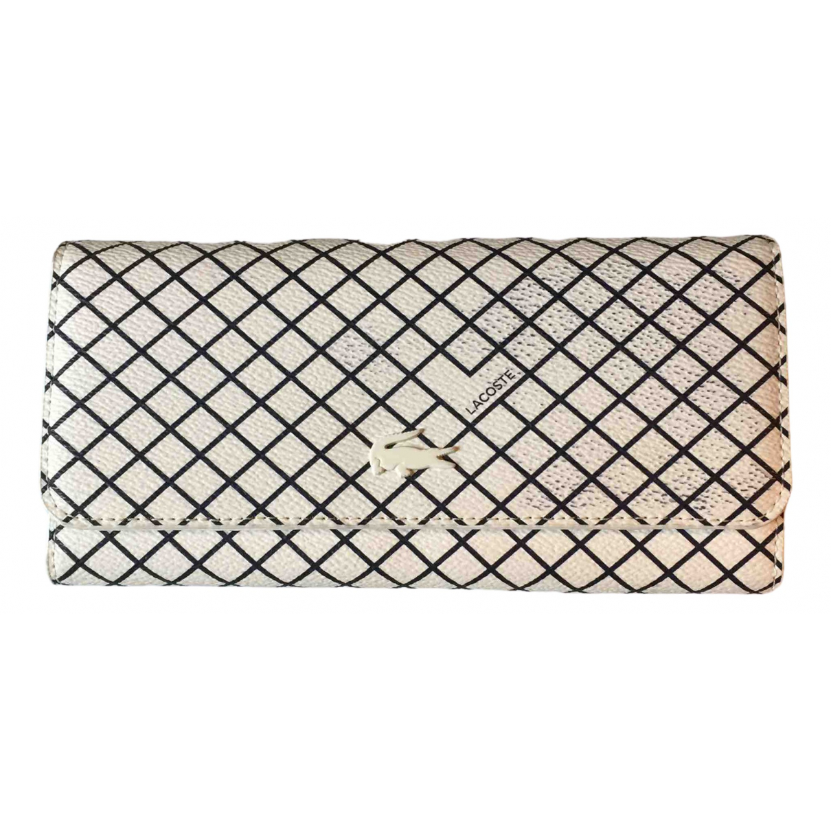 Lacoste N White Leather wallet for Women N