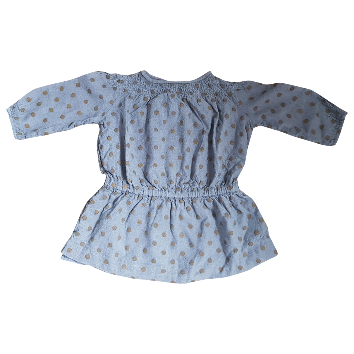 Bonpoint \N Grey Wool dress for Kids 3 years - up to 98cm FR