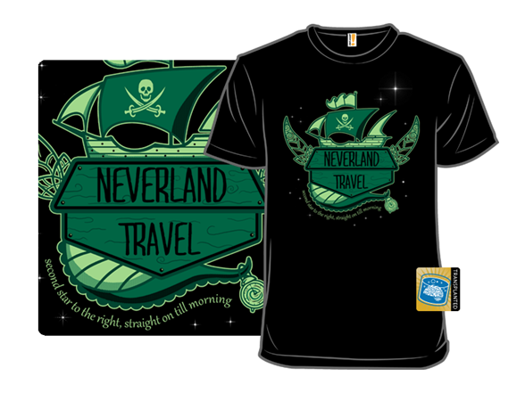 Neverland Travel T Shirt
