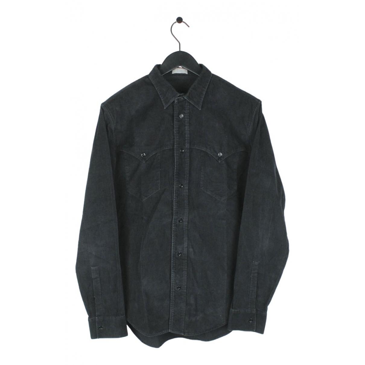 Dior Homme - Chemises   pour homme en coton - noir