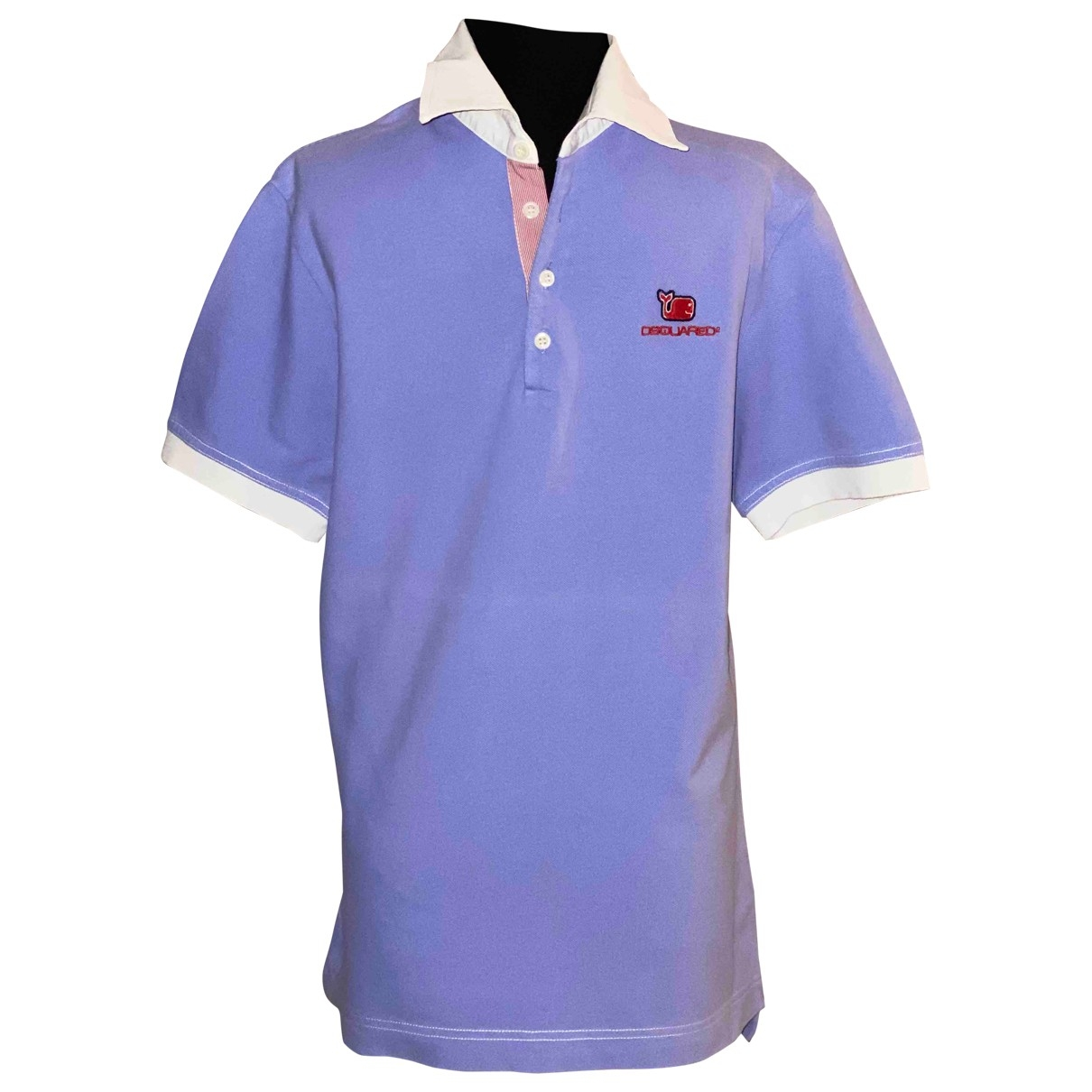 Dsquared2 \N Poloshirts in  Lila Baumwolle