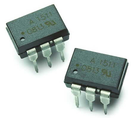 ON Semiconductor , FOD4218SV Triac Output Optocoupler, Surface Mount, 6-Pin DIP (2)