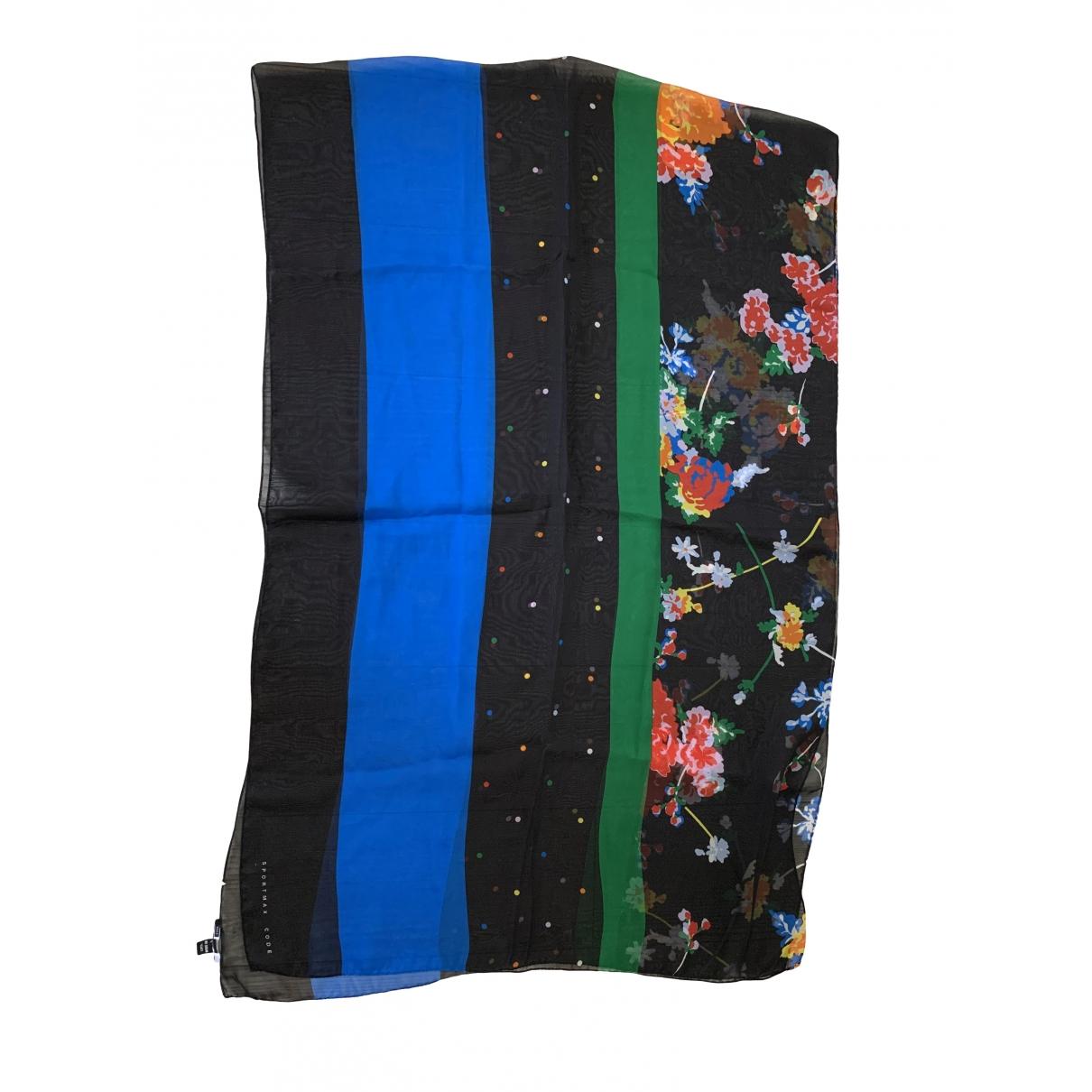Sport Max - Foulard   pour femme en soie - multicolore