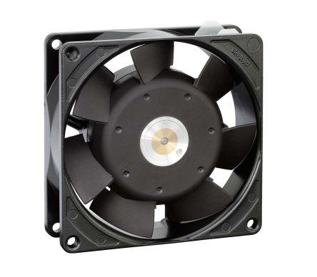 ebm-papst , 230 V ac, AC Axial Fan, 92 x 92 x 25mm, 31m³/h, 6W, IP20