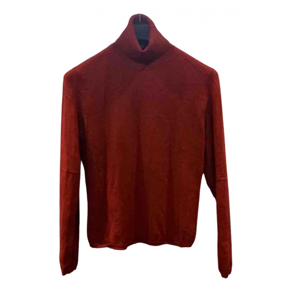 Burberry - Pull   pour femme en cachemire - rouge
