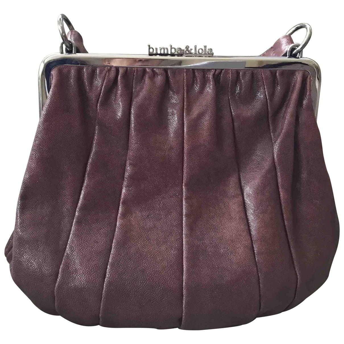 Bimba Y Lola \N Brown Leather handbag for Women \N