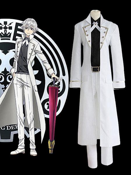 Milanoo K RETURN OF KINGS Yashiro Isana The Silver King Cosplay Costume