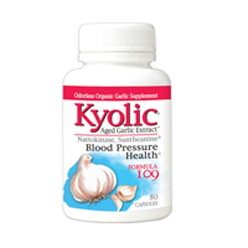 Kyolic Aged Garlic Extract Formula 109 160 caps by Kyolic