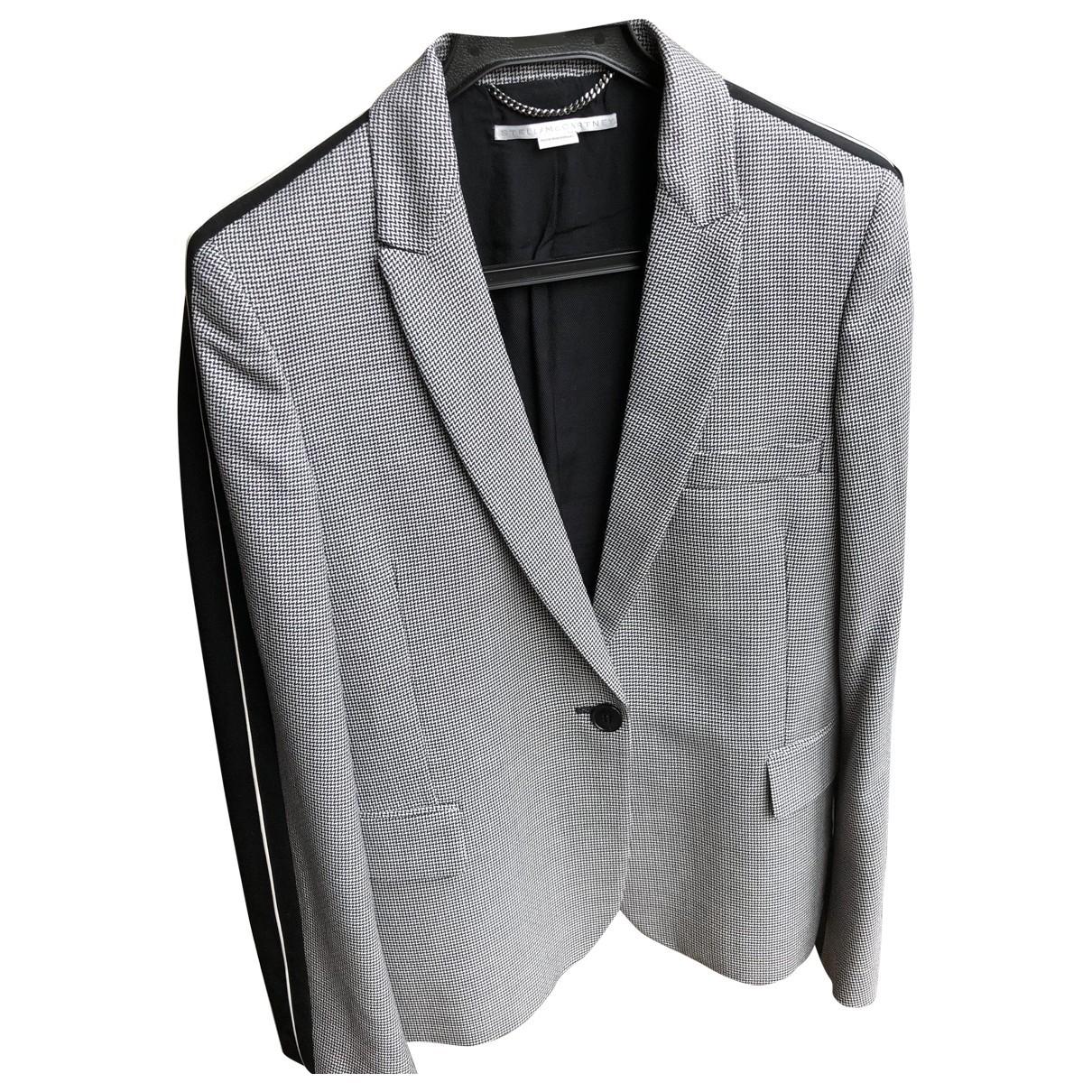 Stella Mccartney \N Grey Wool jacket for Women 40 FR
