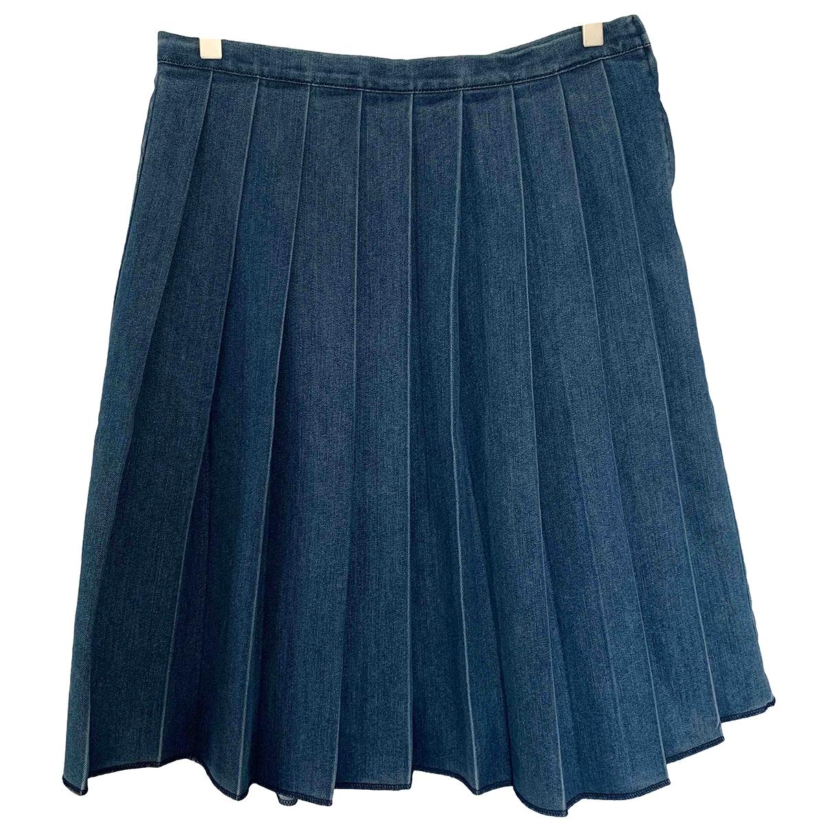 Mads Nørgaard \N Blue Denim - Jeans skirt for Women M International
