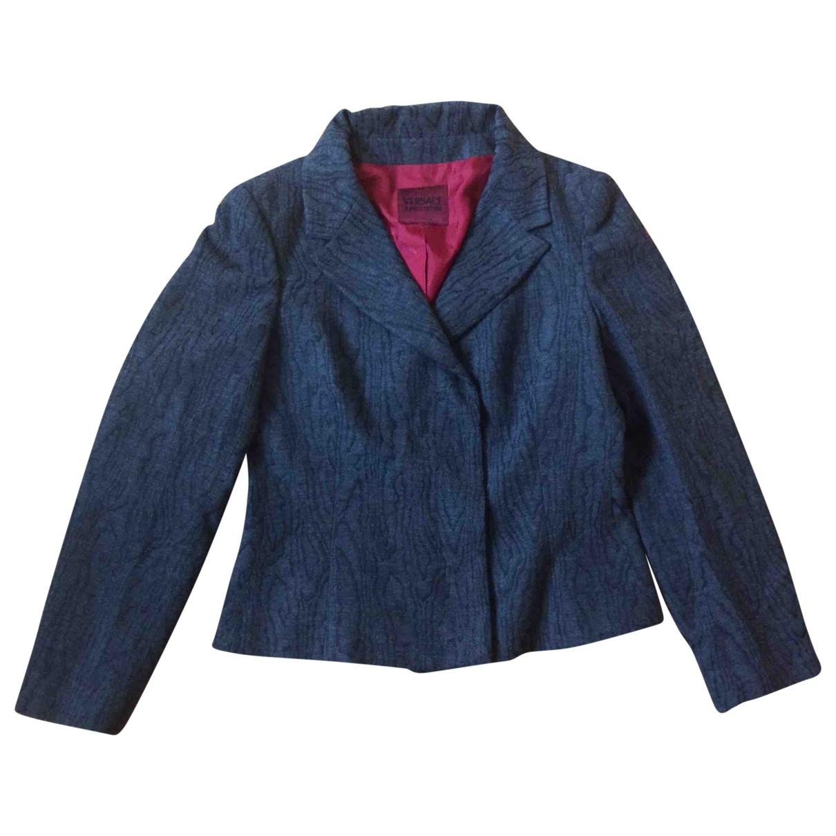 Versace Jeans \N Grey jacket for Women 44 IT