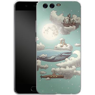 Huawei P10 Silikon Handyhuelle - Ocean Meets Sky von Terry Fan