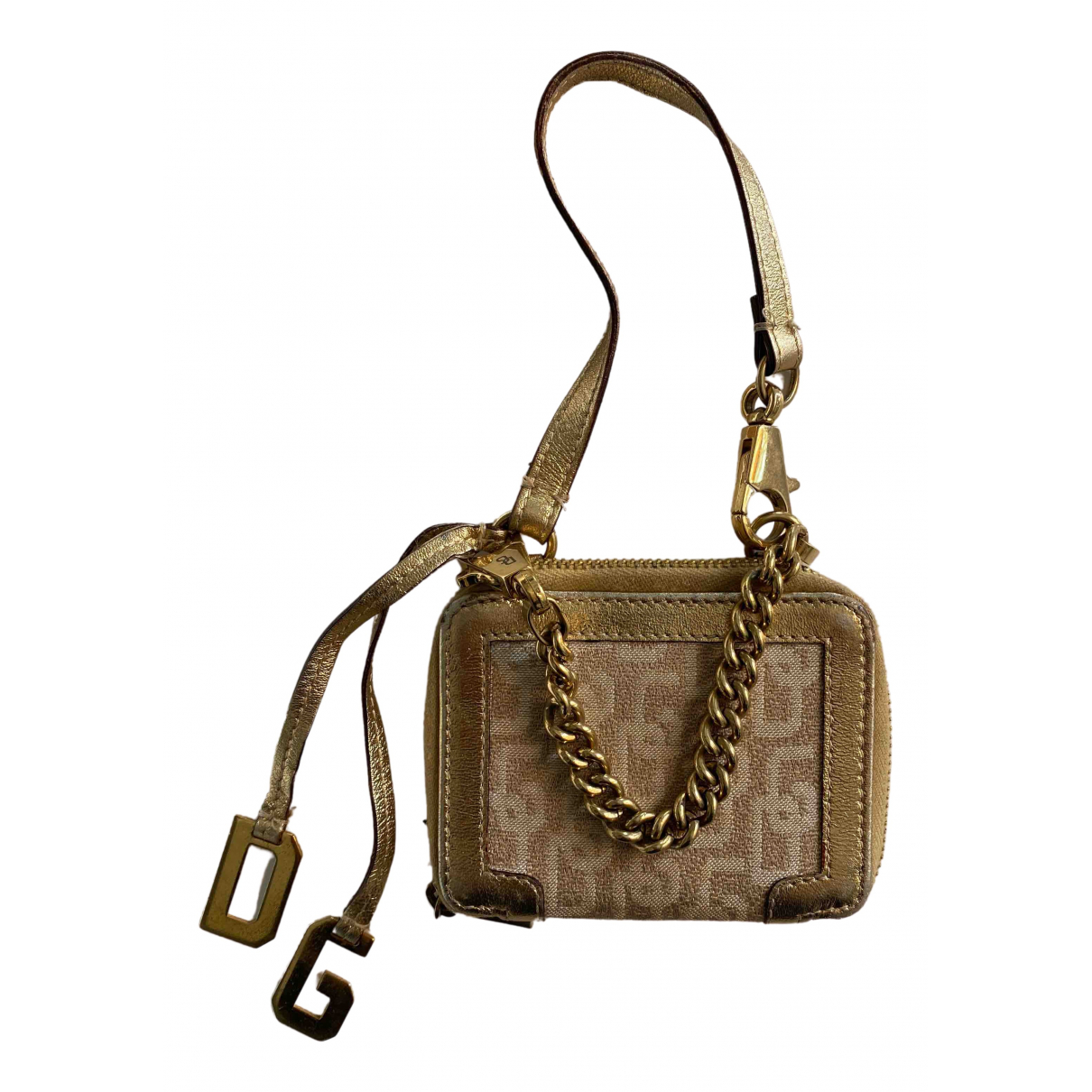 Dolce & Gabbana \N Gold Leather Purses, wallet & cases for Women \N