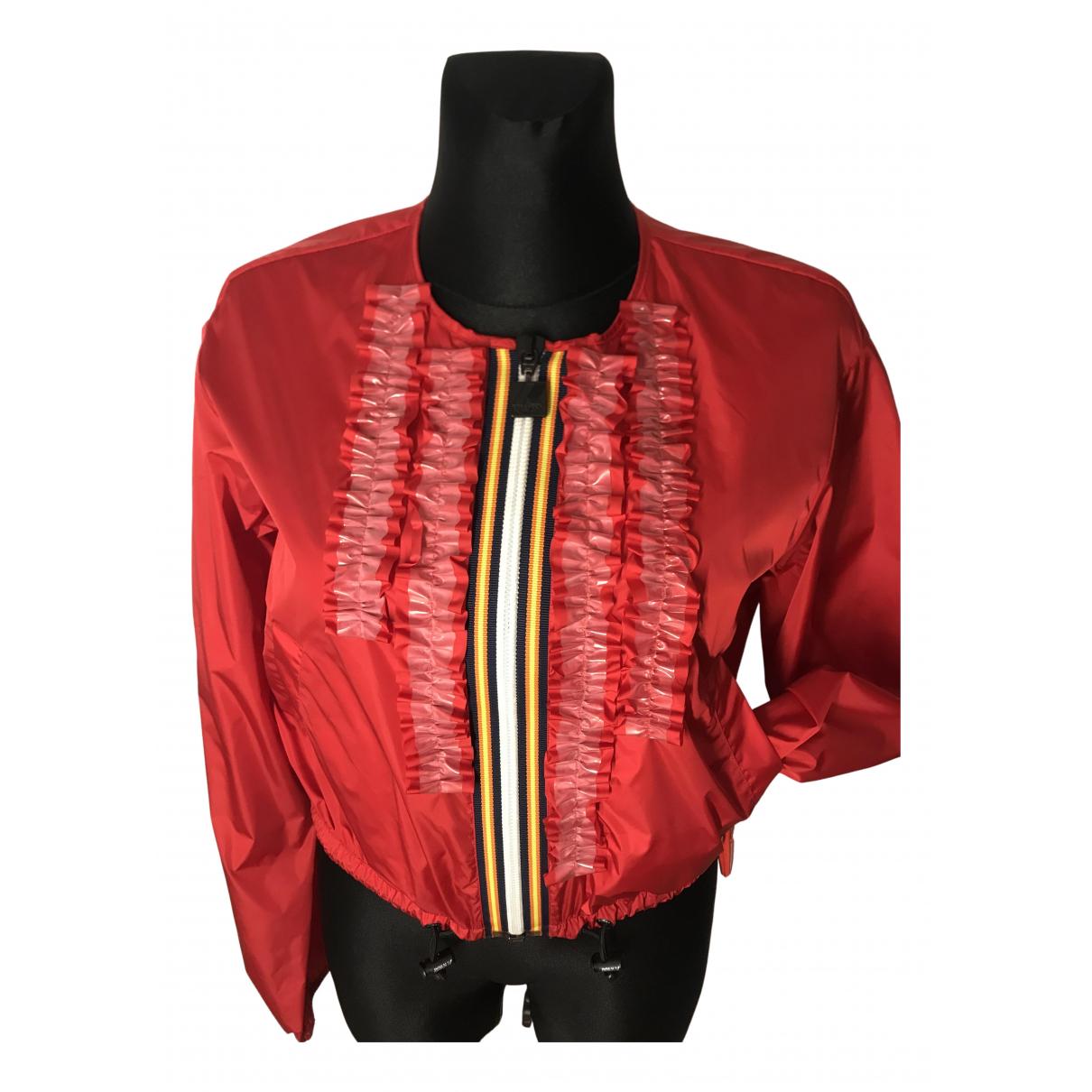 Dsquared2 - Veste   pour femme - rouge