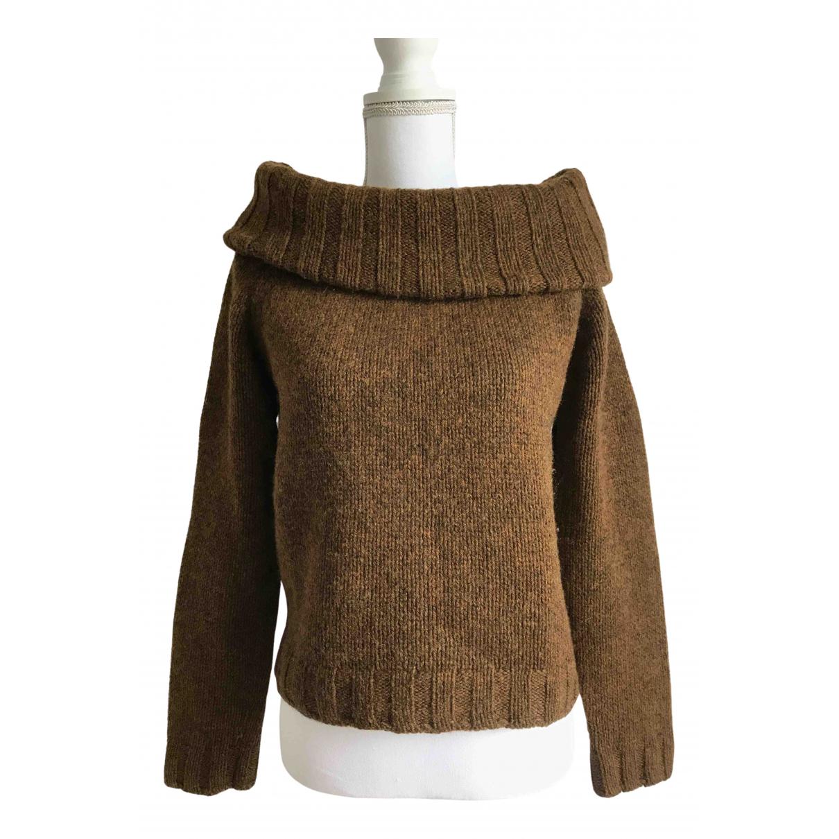 Maison Martin Margiela - Pull   pour femme en laine - marron