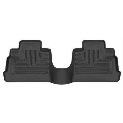Husky X-act Contour Floor Liners - Rear (Black) - 53671