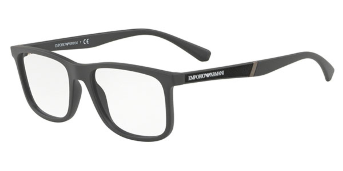 Emporio Armani EA3112 5197 Men's Glasses Grey Size 54 - Free Lenses - HSA/FSA Insurance - Blue Light Block Available