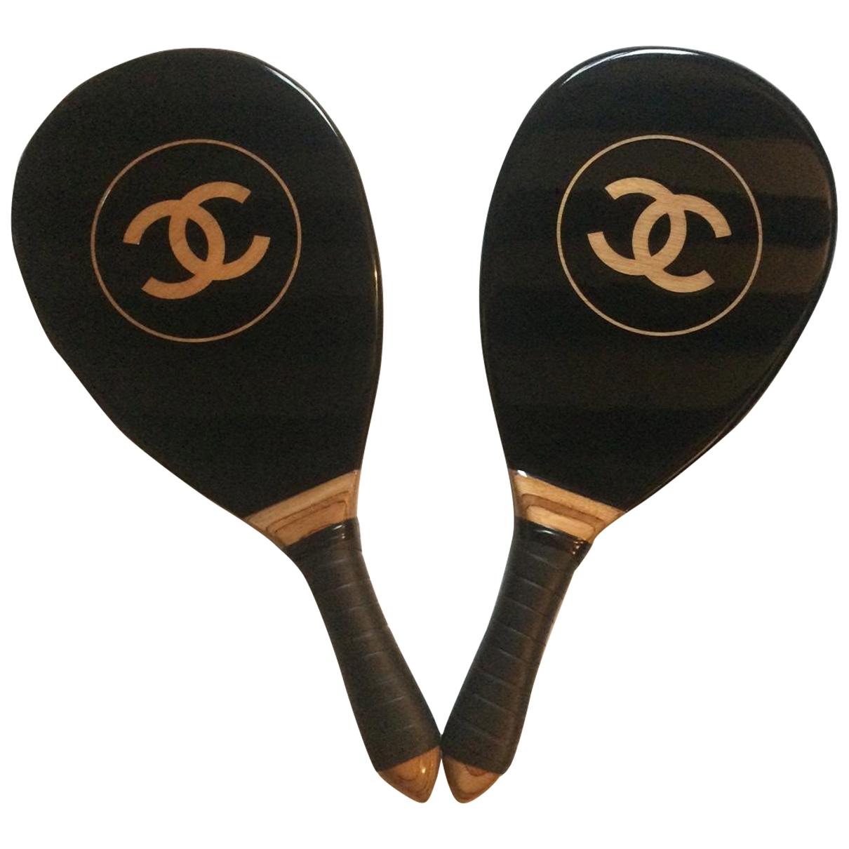 Chanel - Tennis   pour lifestyle en bois - noir
