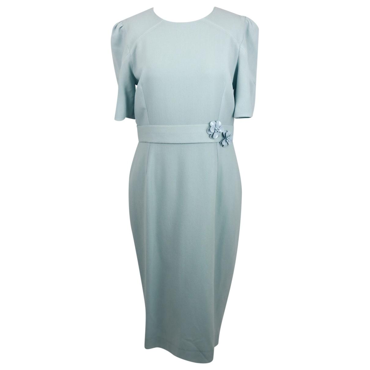 Goat \N Blue Wool dress for Women 14 UK