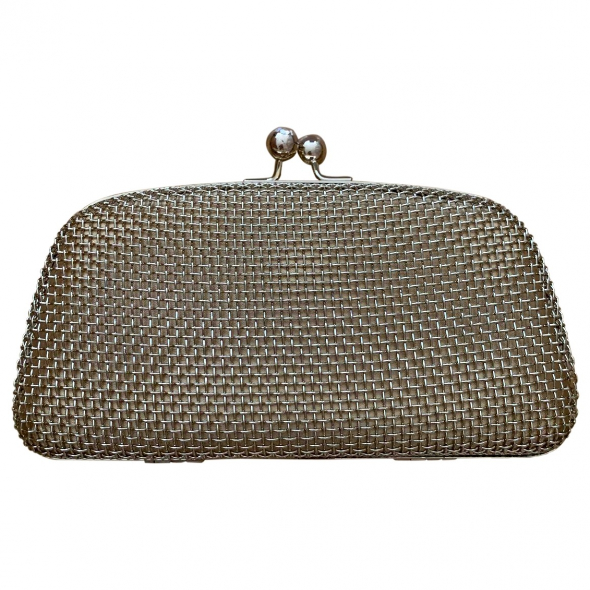 Uterque \N Clutch in  Gold Metall