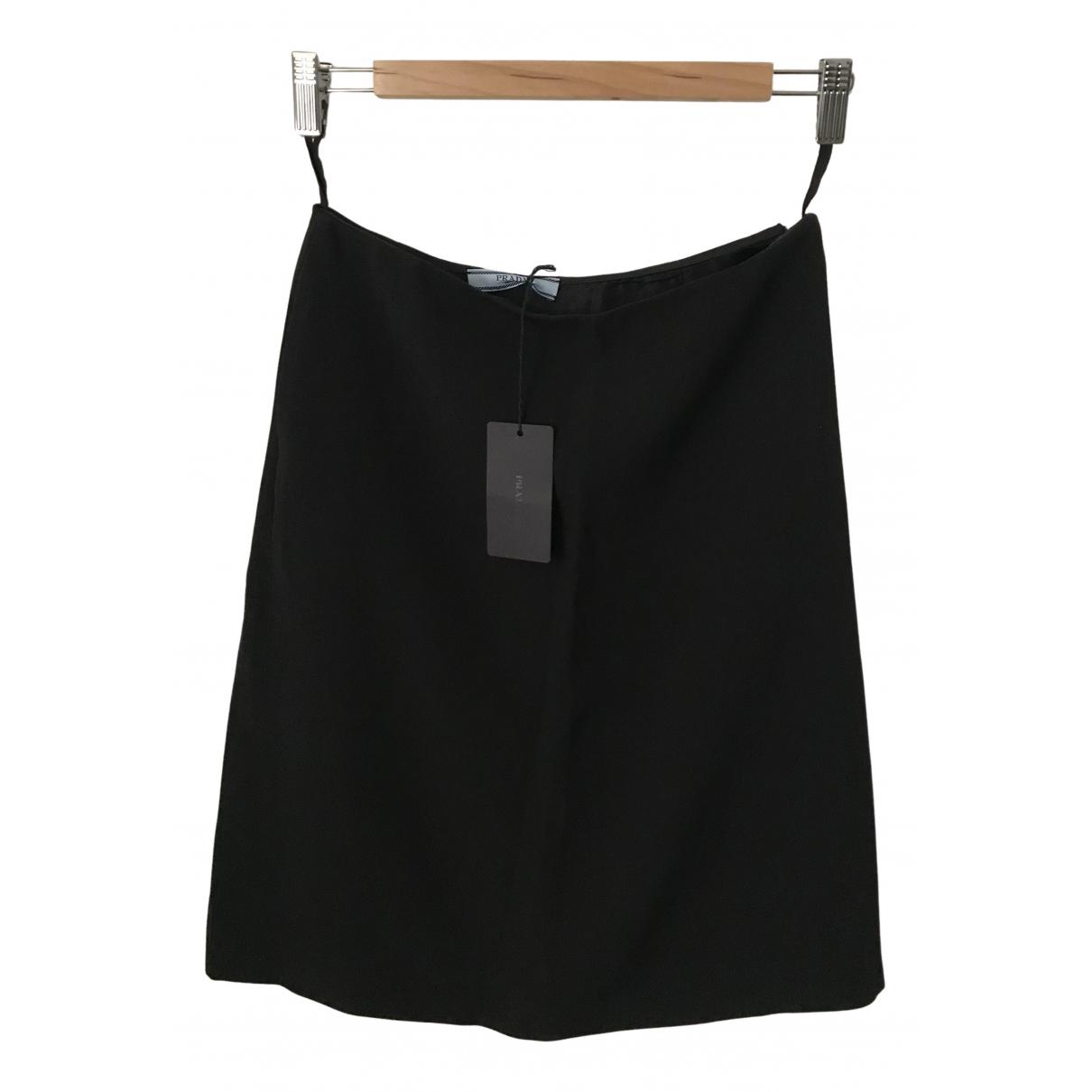 Prada N Black skirt for Women 40 IT