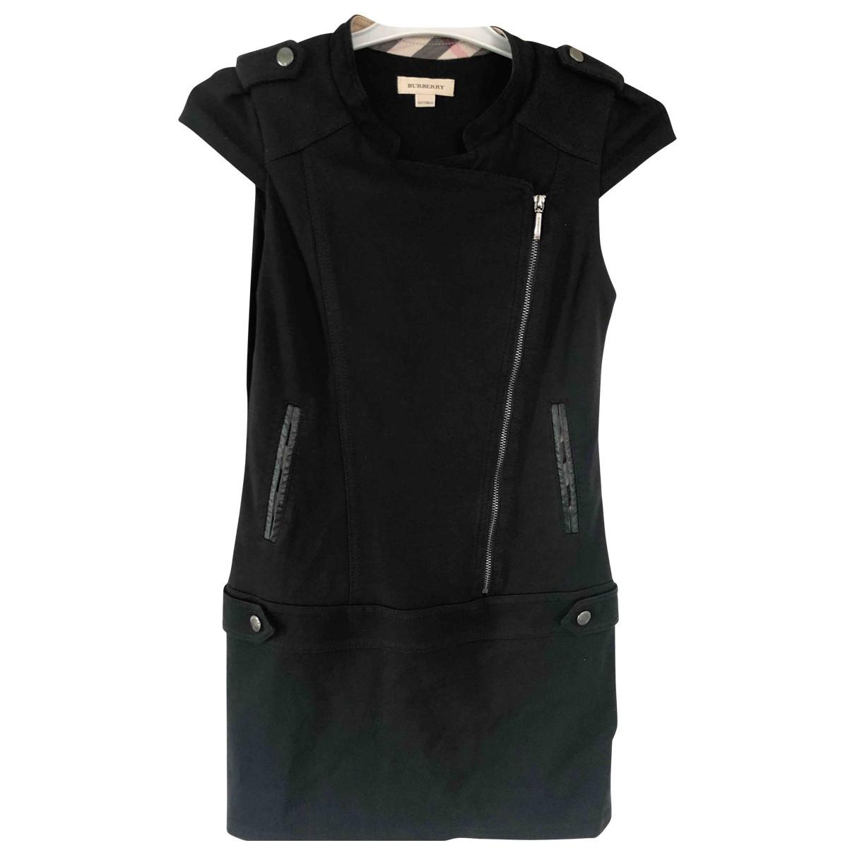Burberry - Robe    pour enfant en coton - noir