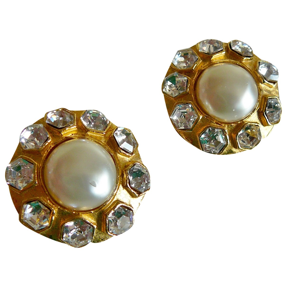 Chanel Baroque OhrRing in  Gold Vergoldet
