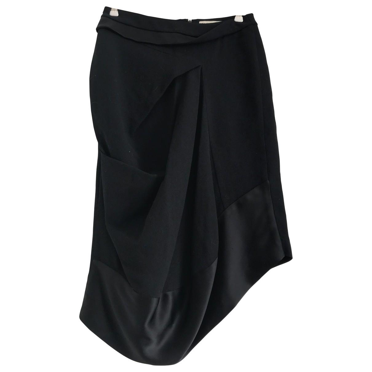 Balenciaga \N Rocke in  Schwarz Wolle