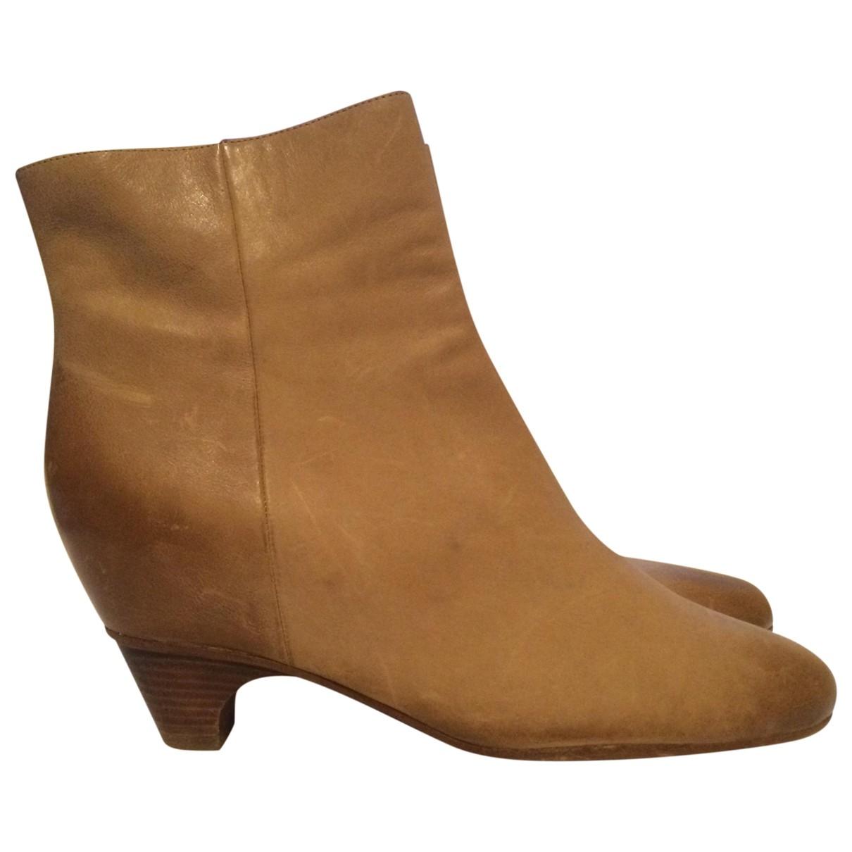 Maison Martin Margiela - Boots   pour femme en cuir