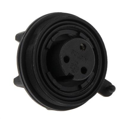 Bulgin Connector, 3 contacts Panel Mount Socket, Screw IP68