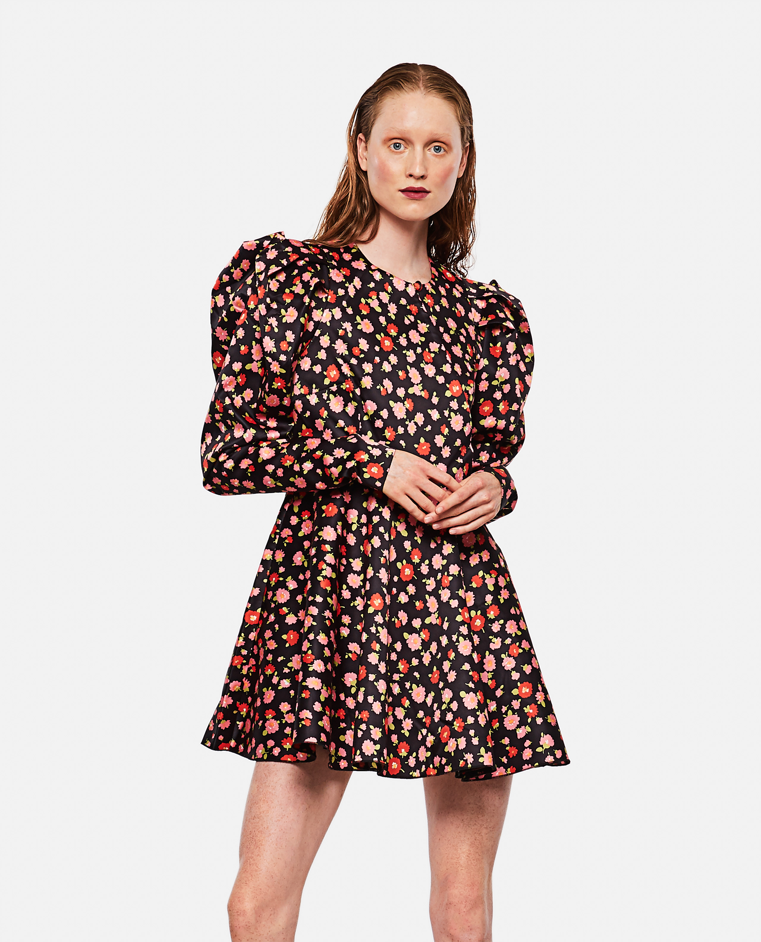 Pauline dress in printed polyester